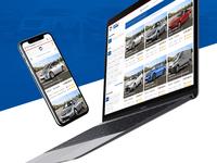 Vehicle Marketplace ecommerce web interface branding website ui ui  ux design webdesign brand identity interaction design car listing marketplace uidesign vehicle