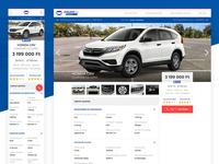 JóAutók.hu product page marketplace uidesign interaction design vehicle car listing ux  ui brand identity web ecommerce website interface branding ui