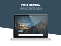 VisitSerbia - Concept Redesign