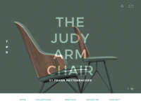 The Judy Armchair - Concept Redesign