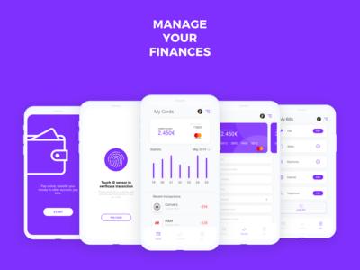 myWallet - Finance Concept App