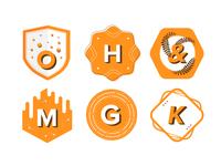 Alphabet Badge Series 1
