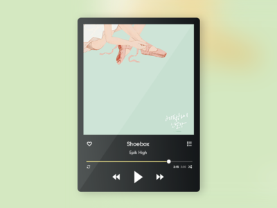 Daily UI 009 - Music Player