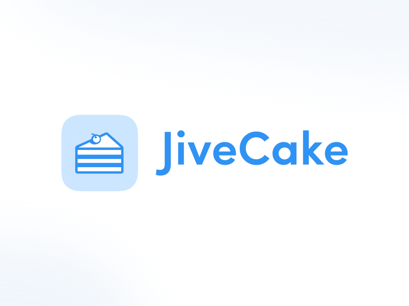 Event Registration App - JiveCake 🍰 branding application appicon cake jivecake logo