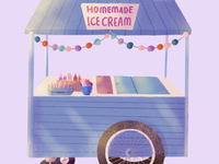 Ice Cream Food Stall