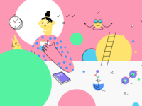 Habit. App Of The Day Illustration