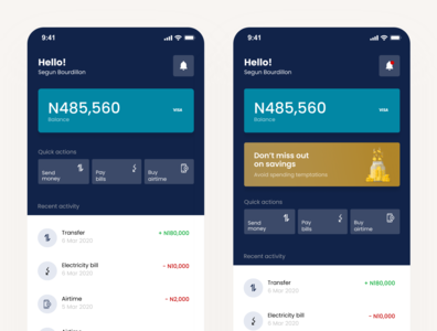 Finance app exploration. mobile app ux ui mobile app design