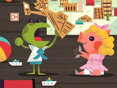 Kermit & Piggy