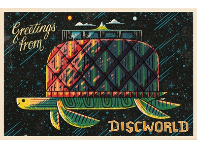 Discworld Post Card