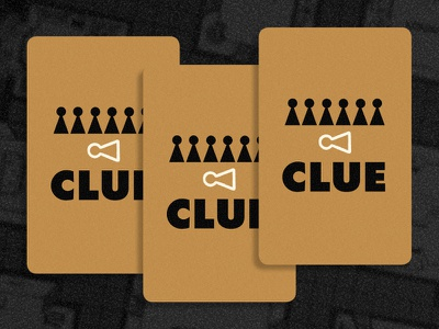 Clue Backs andrew kolb kolbisneat illustration limited palette personal project board game cluedo clue