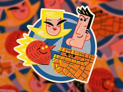 Fantastic Four Sticker