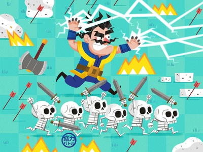 Clash Royale Wallpaper andrew kolb kolbisneat illustration mobile games video games clash of clans clash royale supercell