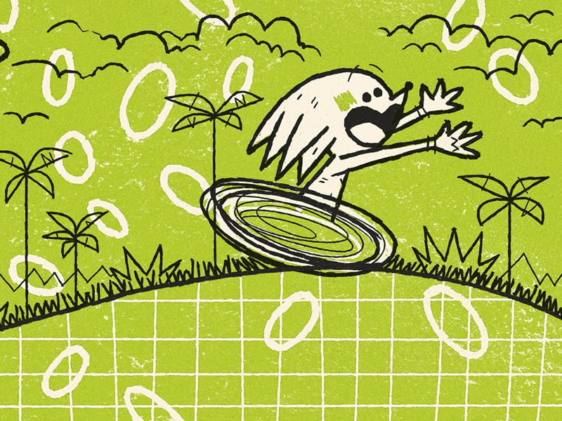 Knuckles andrew kolb kolbisneat illustration limited palette sega sonic mania knuckles tails sonic