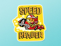 Speed Reader Sticker