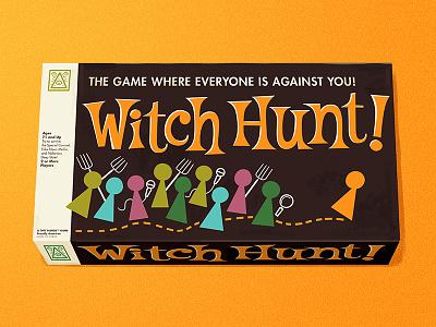 Witch Hunt! andrew kolb kolbisneat illustration editorial illustration editorial board game op-ed new york times