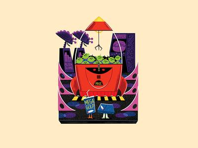 Teeny Tiny Arcade andrew kolb kolbisneat illustration diorama teeny tiny sheriff woody buzz lightyear toy story pixar