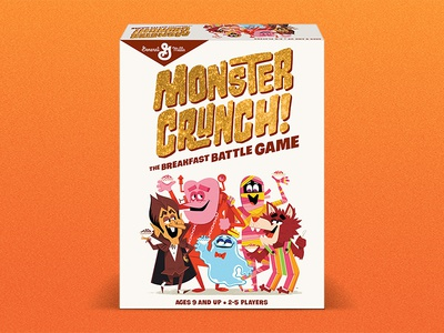 Monster Crunch count chocula yummy mummy franken berry fruit brute boo berry general mills cereal monsters monster crunch