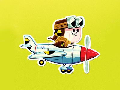 Test Pilot Sticker