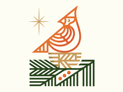 Stay Home Holiday holiday card design branding illustration