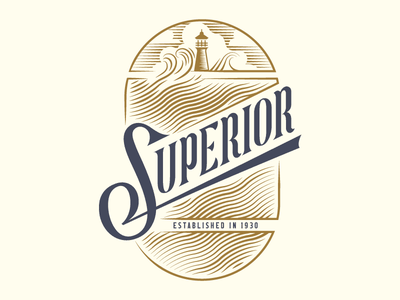 Superior type illustration packaging