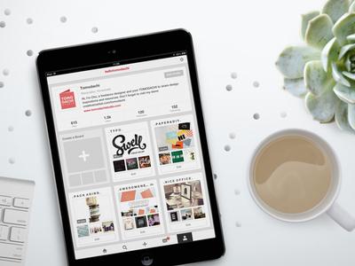Black Tablet MockUp  mockup template blog ui ios app ipad mini air iphone apple device
