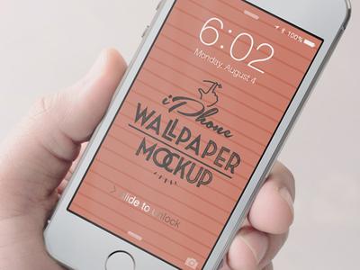 iPhone wallpaper Mockup mockup white device phone ui interface user web blog insignia screen