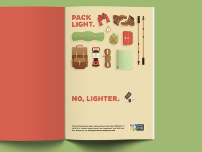Pack Light. No, Lighter.