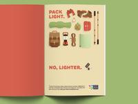 Pack Light. No, Lighter.