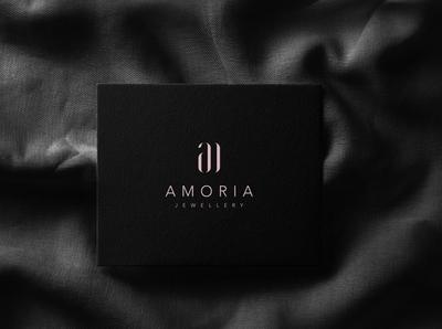 amoria typography logos logomark minimal creative logotype branding icon identity logo