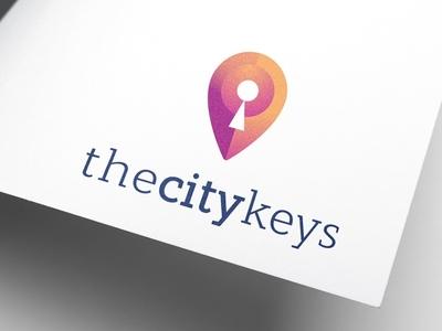 the city keys illustration logos design minimal logomark creative logotype icon branding identity logo