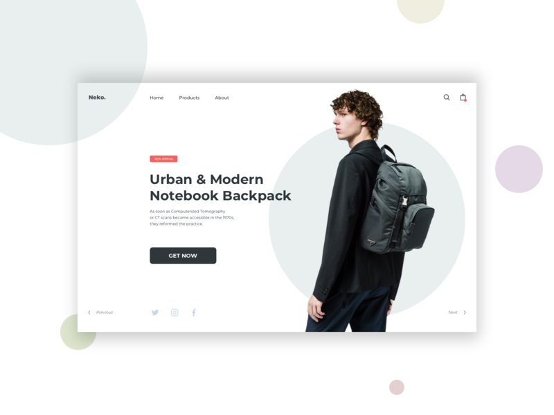 LandingPage DailyUI #03 design web ux ui