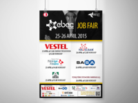 EBEC Ankara '15 Job Fair Poster Design