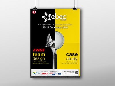 EBEC Ankara'19 Poster Design design poster ankara ebec best metu odtü