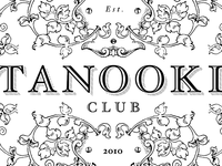 Tanooki Club Logo - detail