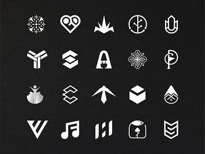 logofolio 2019-2020 icon design symbol minimal flat logo branding