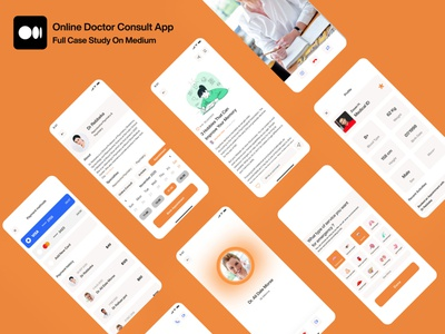 Health care Mobile app mobile ui uiux designer app design mobile design mobile app ios ux design uidesign patient app doctor appointment medical app health app care health