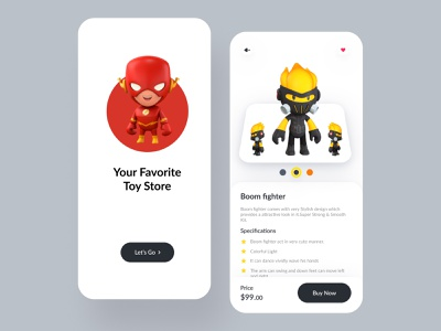 Gaming toys App - mobile app product design mobile design ios ux ui mobile ui mobile app minimalist app design app gameapp gaming game