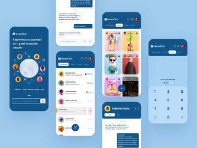 Messaging app clean ios minimal app ux ui private chat chatbot secured share story chat application message app group chat product design app design mobile ui mobile app chat app