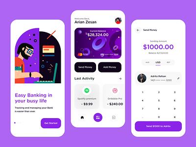 Finance Mobile App Exploration fintech app finance app bank app banking bank fintech finance app mobile ui mobile app app design
