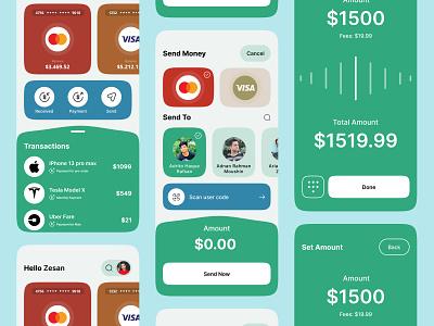 Finance - Online banking app zesan ideate banking app bank app financial app financial finances finance app bank banking fintech finance mobile design mobile app design app mobile ui mobile app app design