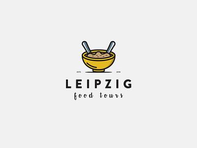 leipzig3 vintage newyork symbol flat branding logo
