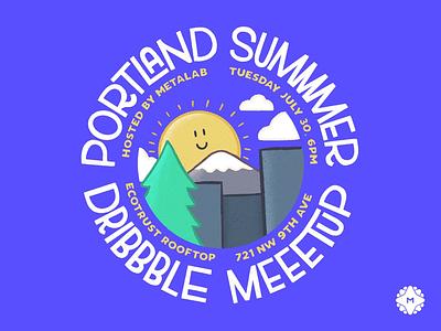 Portland Dribbble Meetup metalab portland dribbble summer meetup