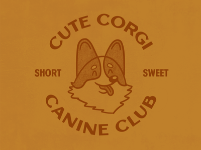 Cute Corgi Canine Club