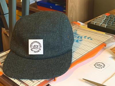 Prototyping Labels hat tag label logo badge illustration dog brand ruff