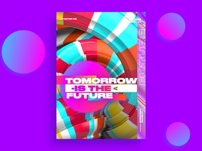 tomorrow is the future poster