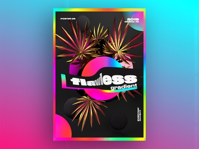 flawless gradient Poster