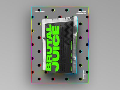 Brutal juice  Poster