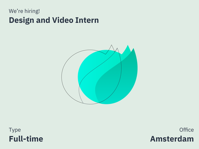 Hiring a Design and Video Intern hire career video job design job intern job internship hiring