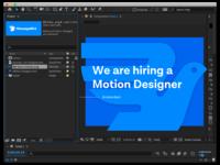 Wanted: Motion Designer