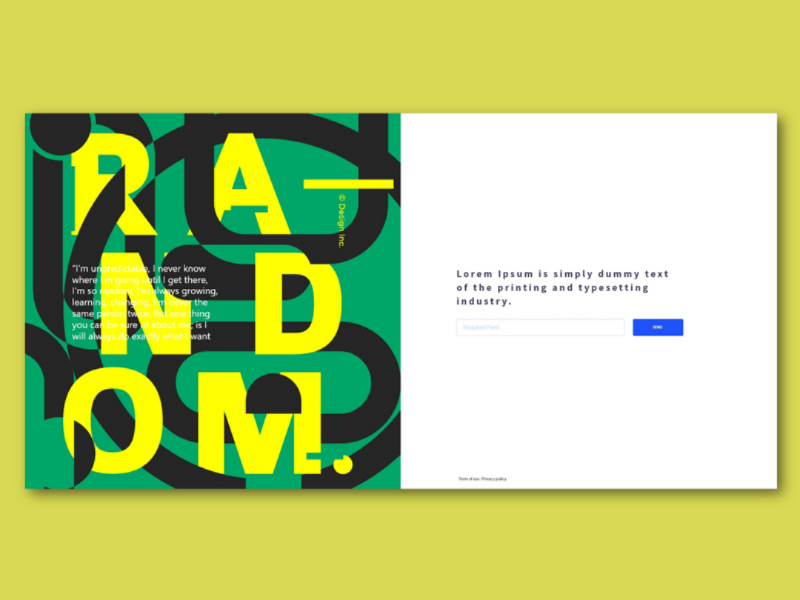 Concept webpage layout design graphics designer uiux ui web designer webpage website